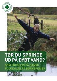 TØR DU SPRINGE UD PÅ DYBT VAND? - Dansk Folkehjælp
