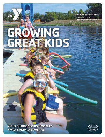 2013 Summer Camp Brochure YMCA CAMP LAKEWOOD