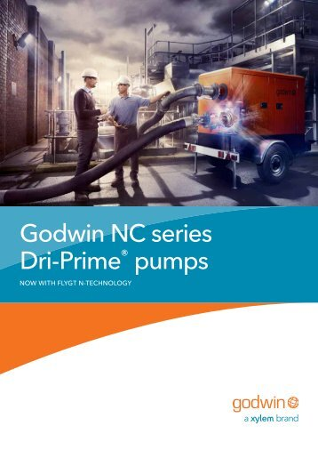 Godwin NC series Dri-Prime® pumps - Water Solutions