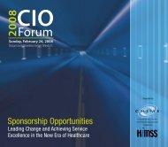 Download the 2008 CIO Forum Opportunities Brochure (1.7MB PDF ...