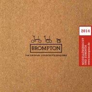 Brompton Katalog 2014