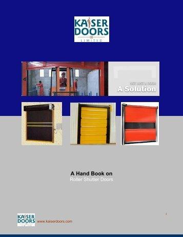 E Book - Kaiser Doors