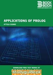 Applications of Prolog - StudyGuide.PK
