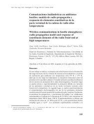 Comunicaciones inalámbricas en ambientes hostiles: modelo de ...
