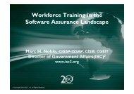 330p Mark Noble Workforce Trainingx - Build Security In