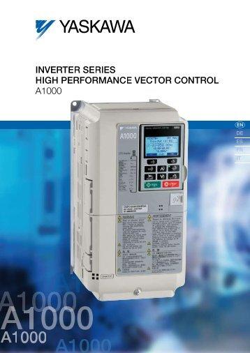 Yaskawa lift inverter l1000a inverter series high performance vector control a1000 cheapraybanclubmaster Choice Image