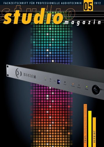 Studiomagazin Test Report ISOSTEM (3.67 MB)