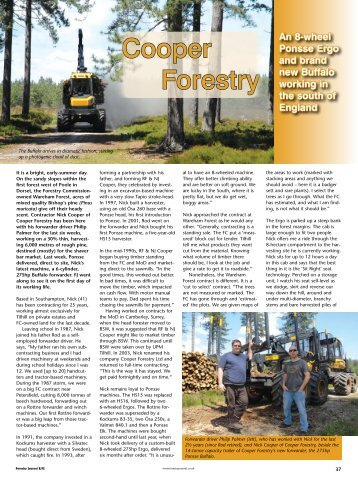 Cooper Forestry - Forestry Journal