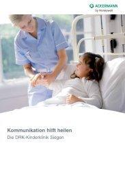 Kommunikation hilft heilen - Ackermann by Honeywell