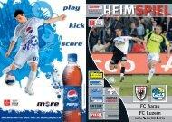 HEIMSPIEL FC Aarau FC Luzern