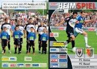HEIMSPIEL FC Aarau FC Basel