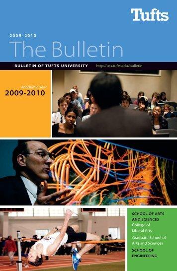 The Bulletin - USS at Tufts - Tufts University