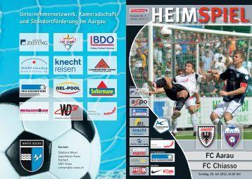 FC Aarau FC Chiasso