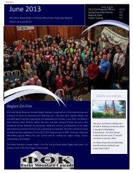 June 2013 - Phi Theta Kappa Rocky Mountain Cascade Region