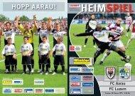 FC Luzern - FC Aarau