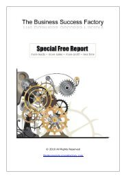 Document Finishing by Wordzworth - The Business Success Factory