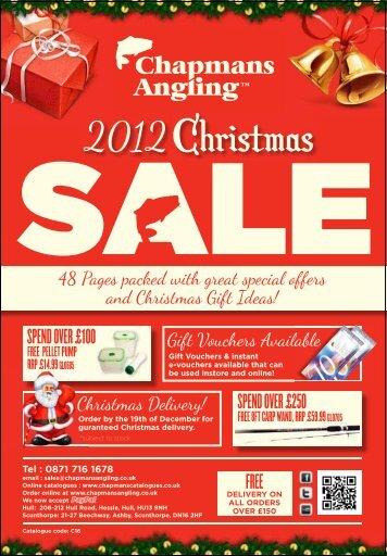 Christmas Sale 2012 C16 - Chapmans Angling