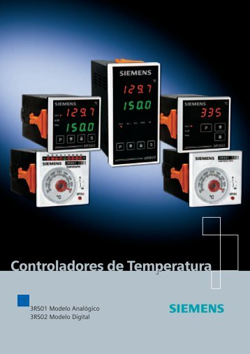 Catálogo Controladores de Temperatura - Industry