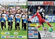 HEIMSPIEL FC Aarau FC St.Gallen
