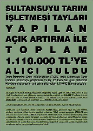 YOL BULAN Karayağız, Pir Karaca, Berkoş, Özgünhan ... - LiderForm