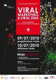 VIRAL MARKETING &VIRAL DNA 09/07/2010 ... - NinjaMarketing