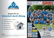 HEIMSPIEL FC Aarau FC Locarno
