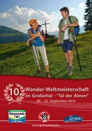 10. Wander-Weltmeisterschaft - Österreichischer Volkssportverband
