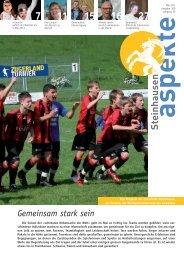Ausgabe 05/2012 (Grösse 6.2 MB) - Aspekte Steinhausen