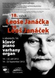 Bulletin 2012 - Janáčkova akademie múzických umění v Brně