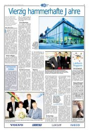 Download Publi-Reportage Jubiläum HAC - Hammer Auto Center AG