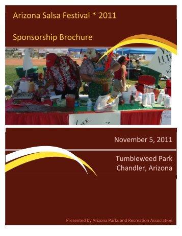 Arizona Salsa Festival Sponsorship Application 2011.pdf