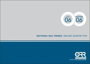 NATIONAL RAIL TRENDS 2006-2007 QUARTER TWO