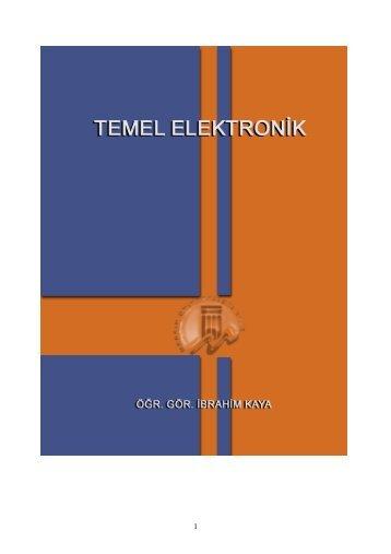 temel elektronik dersleri 1 - 320Volt