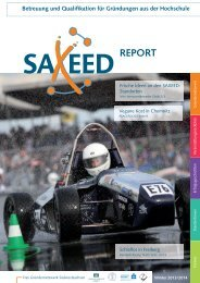 SAXEED-Report 2/2013