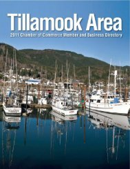 em - Tillamook Chamber of Commerce