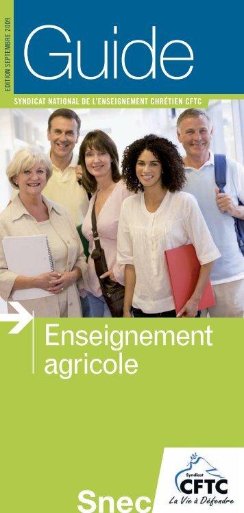 Enseignement agricole - Accès au site...
