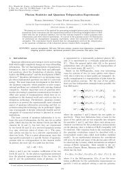 Photon Statistics and Quantum Teleportation Experiments