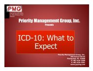 0: What to ICD-10: What to Expect
