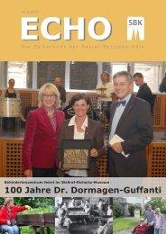 Titelstory SBK-Echo Nr. 2/2013 - Sozial-Betriebe-Köln