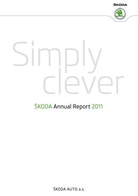 ÅKODA Annual Report 2011 - Skoda Auto