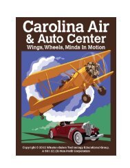 Prospectus/Brochure (PDF) - Carolina Air and Auto Center