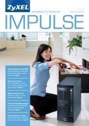 News Magazin für Fachhändler Sommer | 2009 - ZyXEL