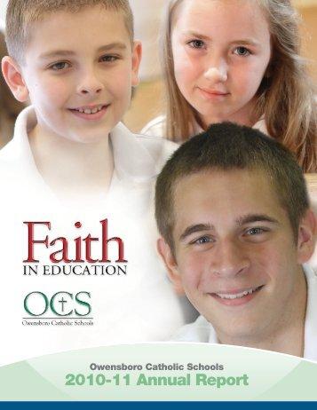 2010-11 Annual Report - Owensboro Catholic Schools
