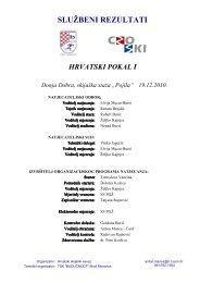 Hrvatski pokal 1 2010/11, Brod Moravice - rezultati (.pdf format)