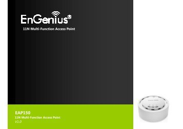 11N Multi-Function Access Point EAP150