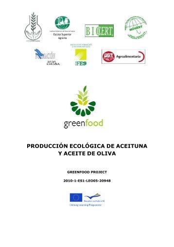 Módulo-Producción ecológica de aceitunas y aceite de oliva - Projects