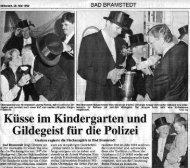 26.05.1999, Segeberger Zeitung, Gilderundgang - Bramstedter ...