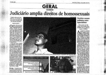 Judiciário Amplia Direitos de Homossexuais