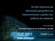 Ana Moreira - Esri Portugal