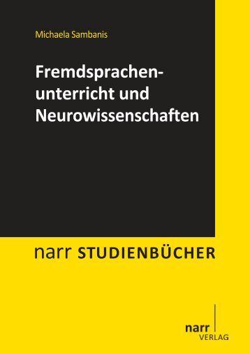 Fremdsprachenunterricht und Neurowissenschaften - narr-shop.de